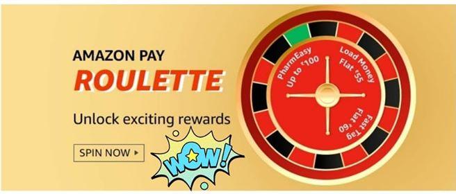Amazon Pay Roulette Quiz Answers-Win Rewards 1